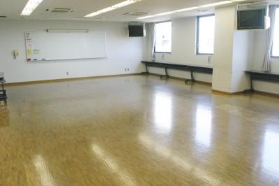 学習室3フローリング床